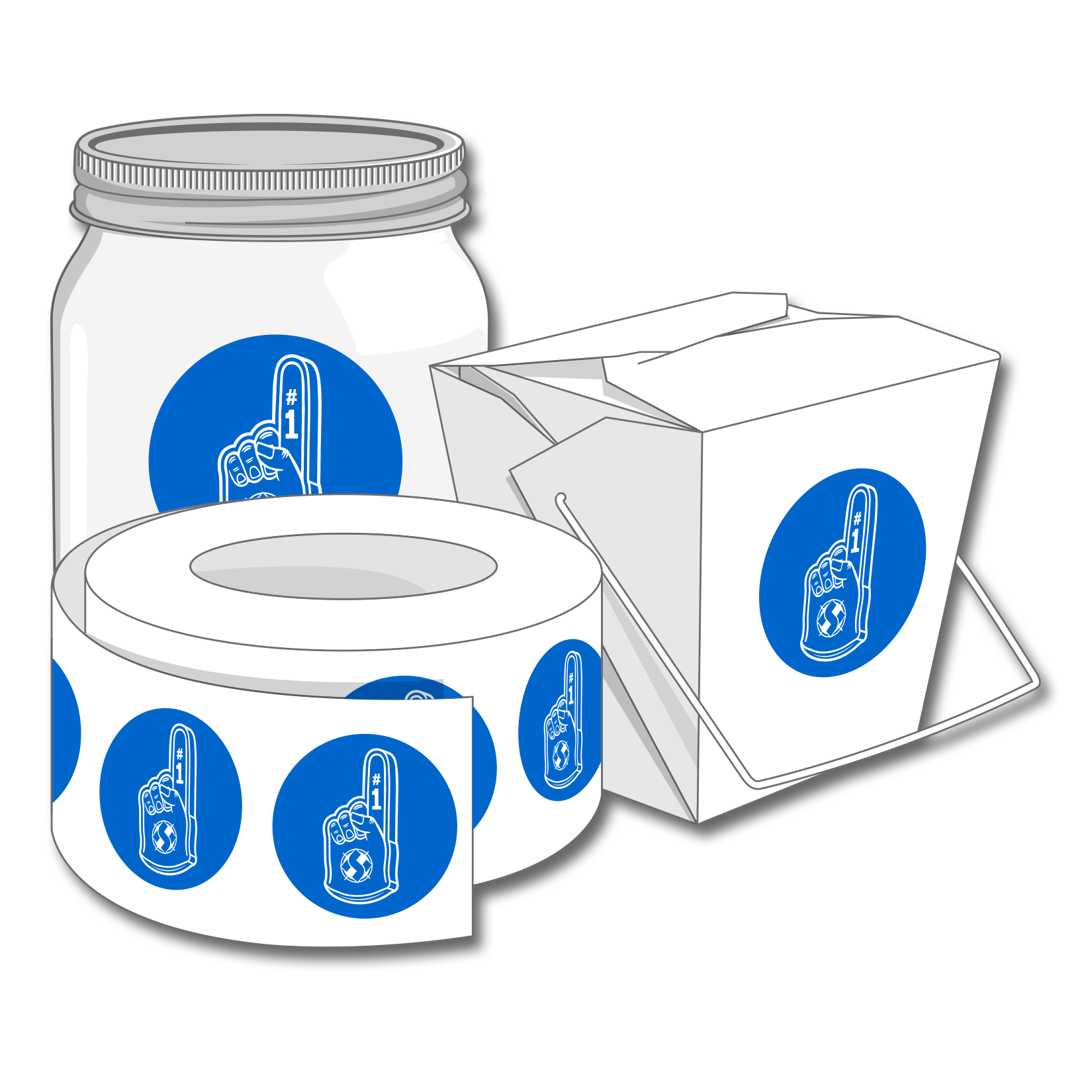 Labels custom roll labels are ideal for any packaging promo pack or special event labeling needs each label is precisely cut and made with a matte