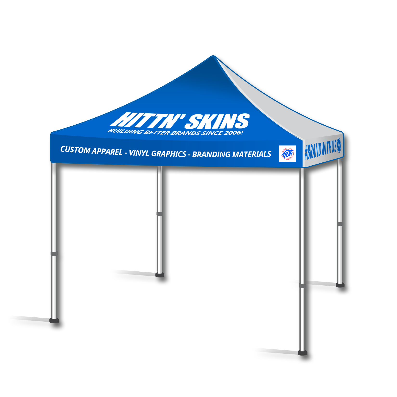 Hittn Skins Custom Printed Event Tents Amp Displays