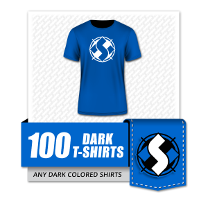 HS - Special Offer - Woo Template - 100 Dark T-shirts