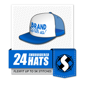 HS - Special Offer - Woo Template - 24 Embroidered Hats