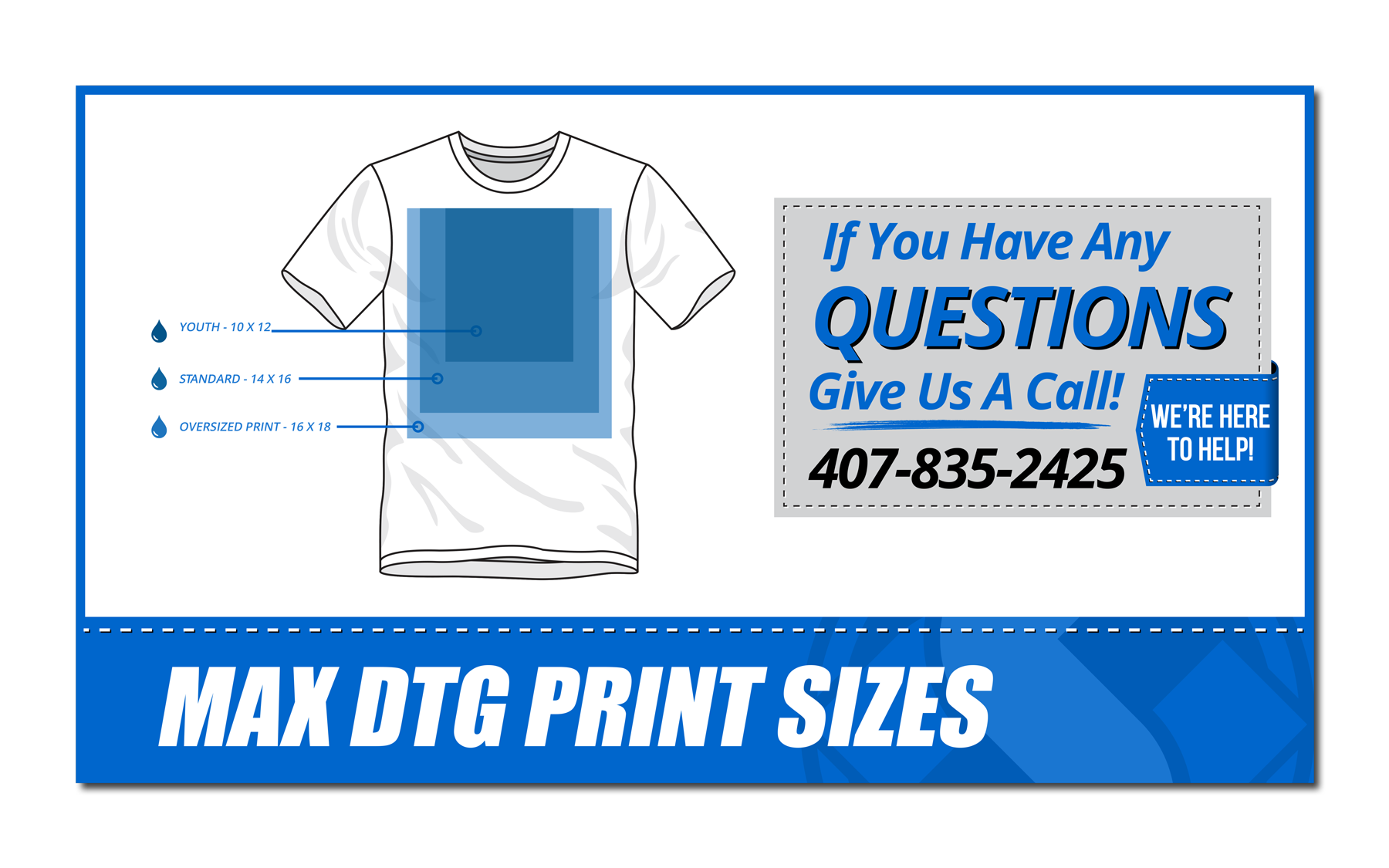 HS - Shirt Sizes - Max DTG Print Sizes