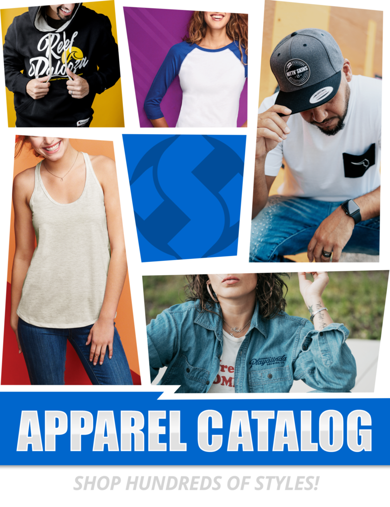 a collage of various apparel